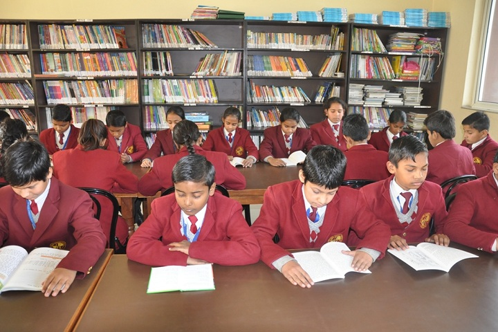 Golden Harrier School-Library