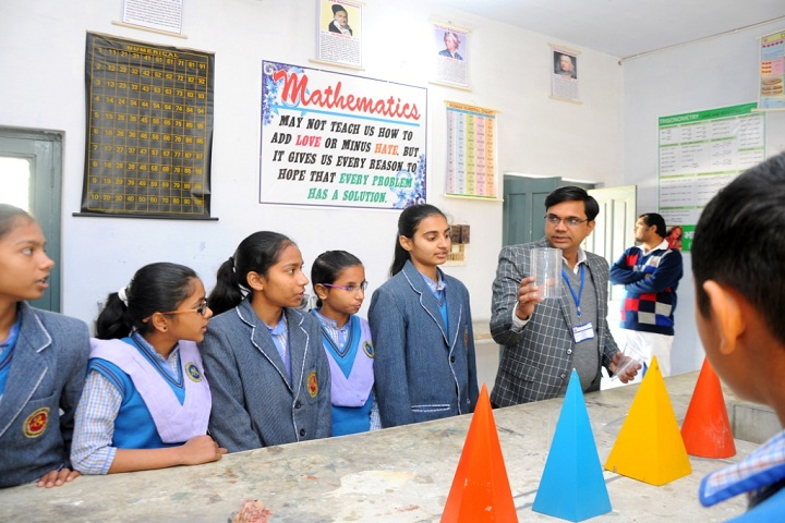 Gopal Vidya Mandir Senior Secondary School-Maths Lab