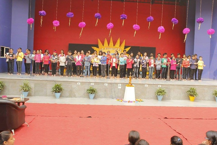 Grand Columbus International School-Founders Day celebrations