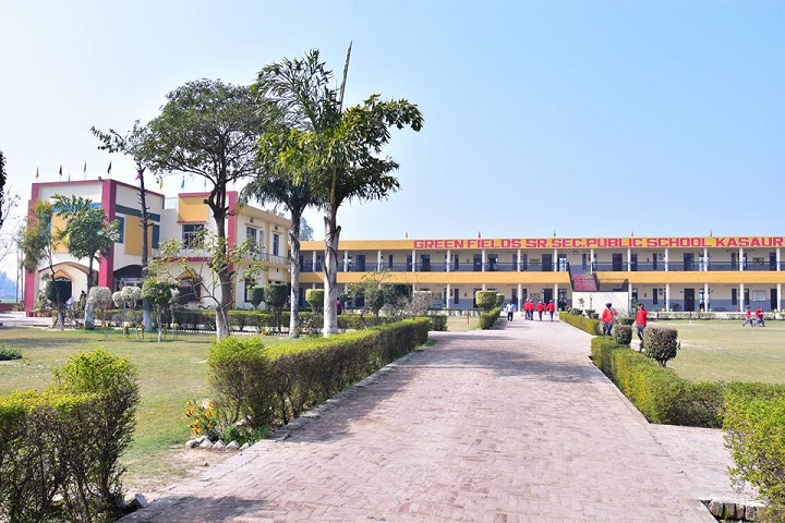 Green Fields Public School-Entrance
