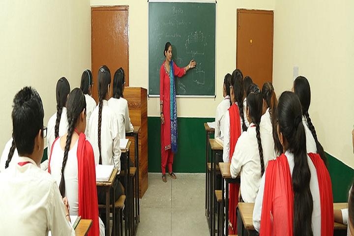 Green Valley Senior Secondary School-Classroom