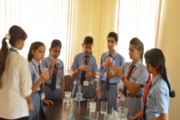 Greenfields Publc School-Lab