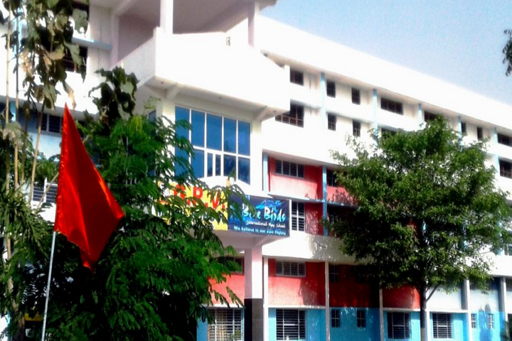 Grv Model School-Campus-View front