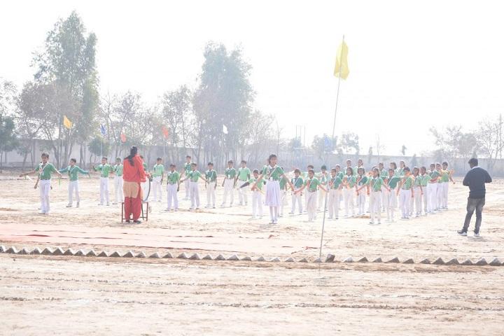 Grv Model School-Events sports day