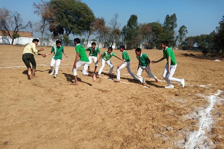 Grv Model School-Sports kabbadi