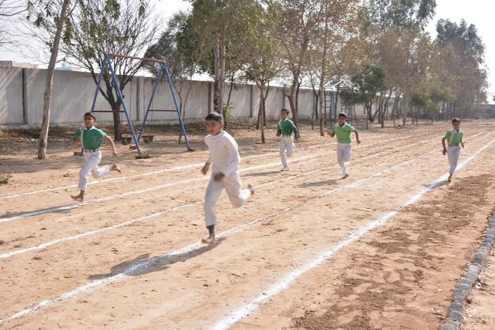 Grv Model School-Sports running