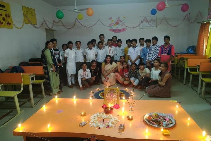 Guru Dronacharya Internal School-Festival Celebration