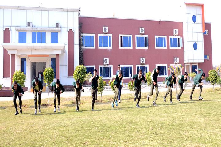 Guru Dronacharya Internal School-Running Competition