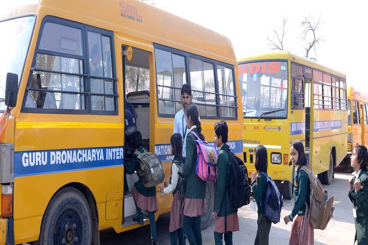 Guru Dronacharya Internal School-Transport