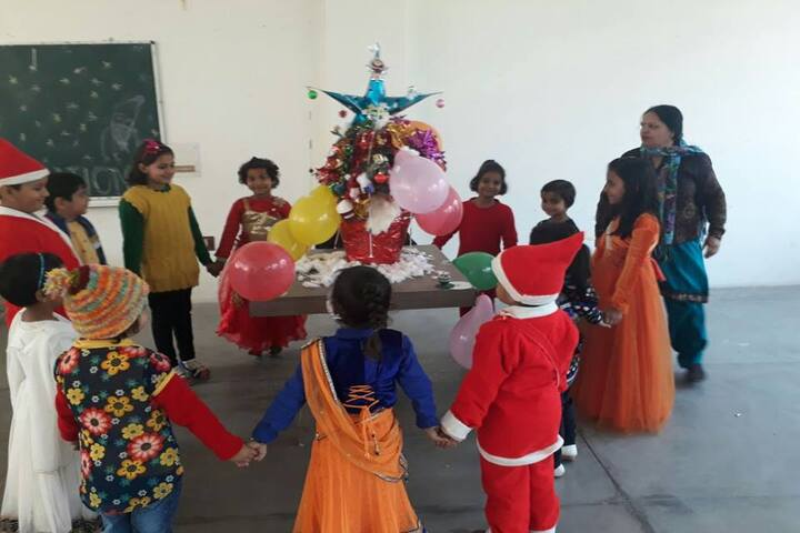 Guru Dronacharya Public School-Christmas Celebration