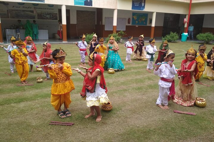 Guru Dronacharya Public School-Festival Celebration