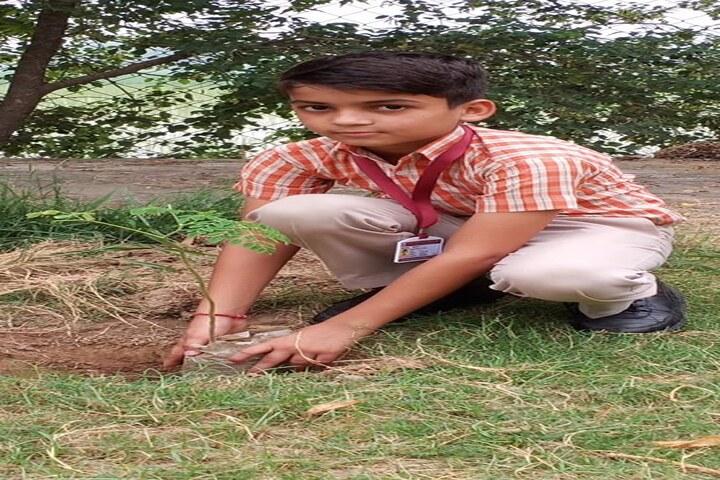 Guru Dronacharya Public School-Plantation