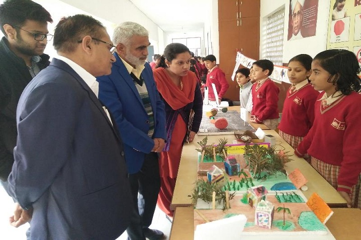 Guru Dronacharya Public School-Science Exhibition