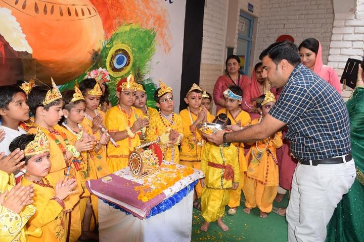 Guru Gobind Singh Public School-Festival Celebration
