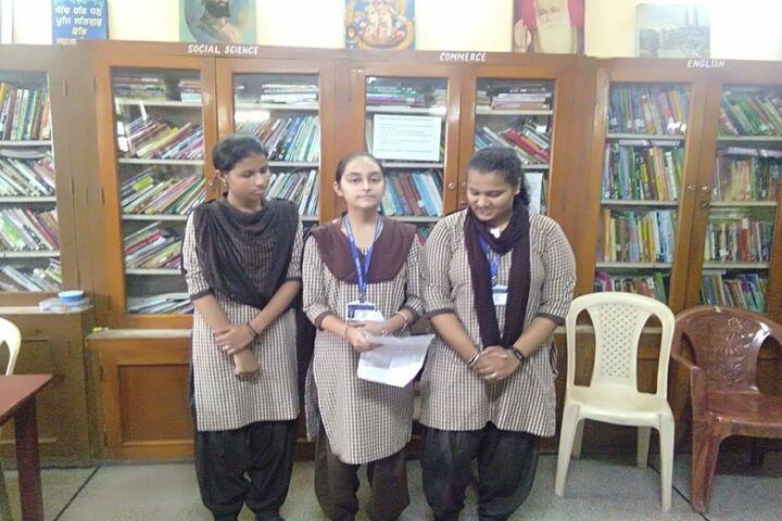 Guru Harkrishan Public School-Library