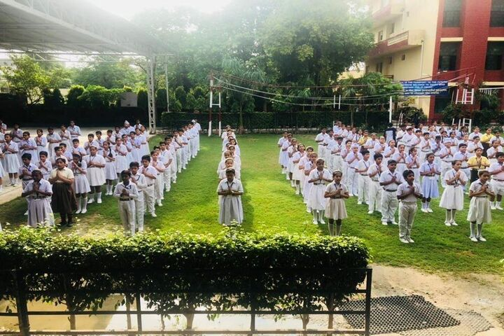 Guru Harkrishan Public School-Morning Assembly