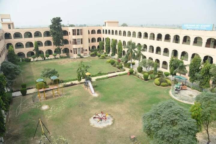 Guru Nanak Dev Academy-Campus View