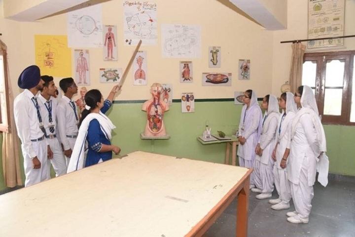Guru Nanak Dev Academy-Science Lab