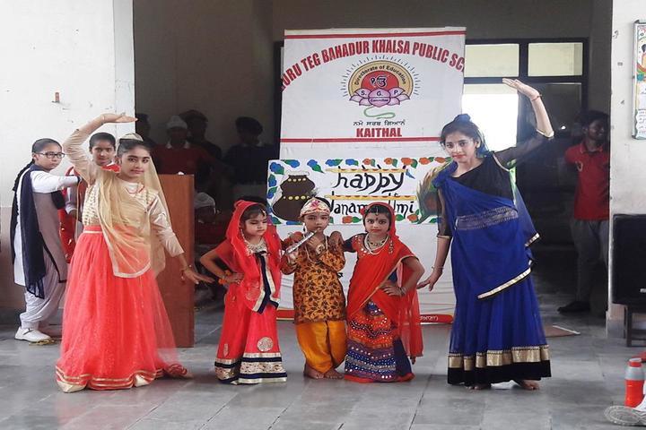 Guru Teg Bahadur Khalsa Public School-Festival Celebration