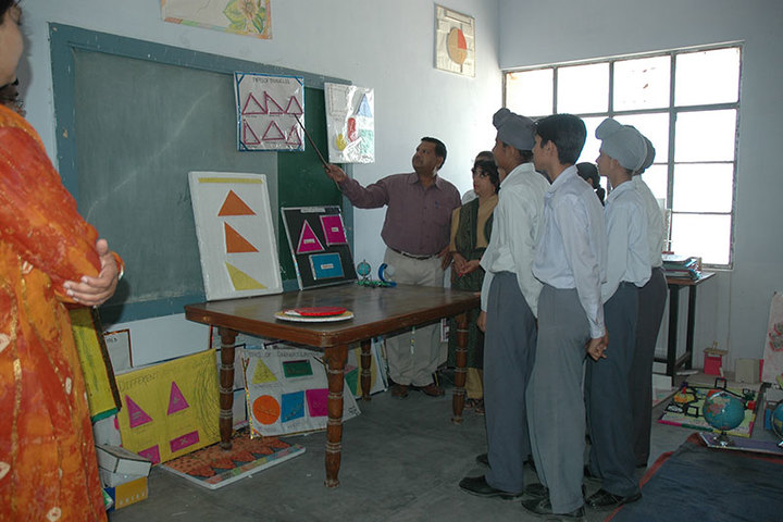 Guru Teg Bahadur Public School-Maths Lab