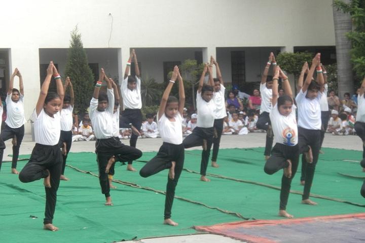 Guru Teg Bahadur Public School-Yoga