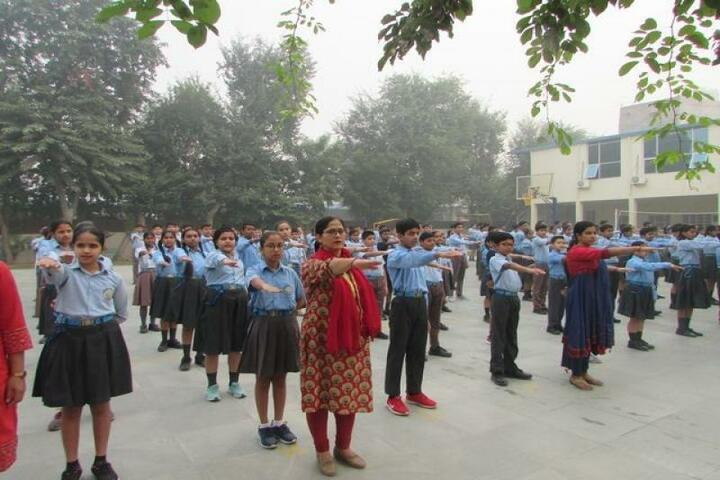 Gyan Devi Public School-Assembly