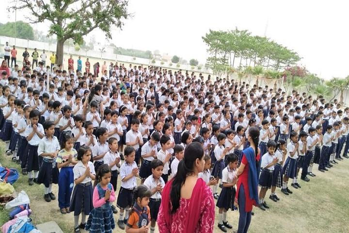 Gyan Ganga Global School-Assembly