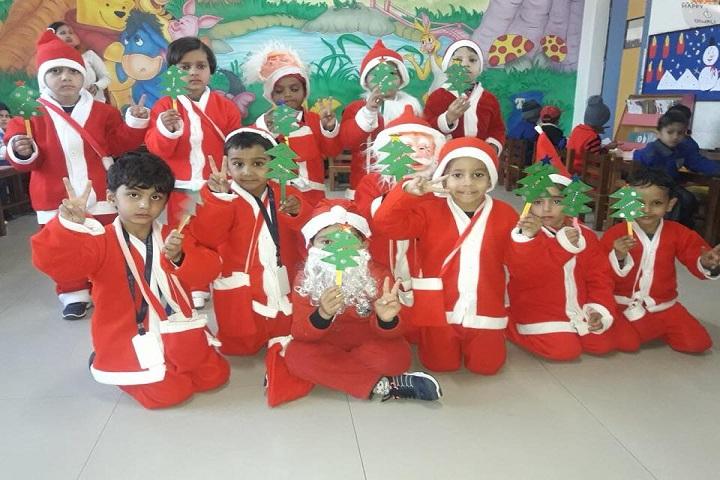 Gyan Ganga Global School-Christmas Celebration