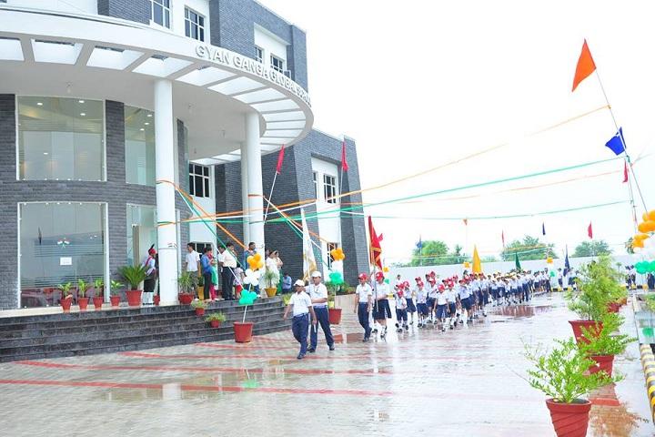 Gyan Ganga Global School-Independance day