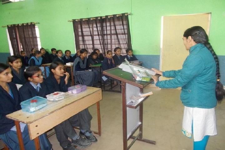 H D Public School-Classroom