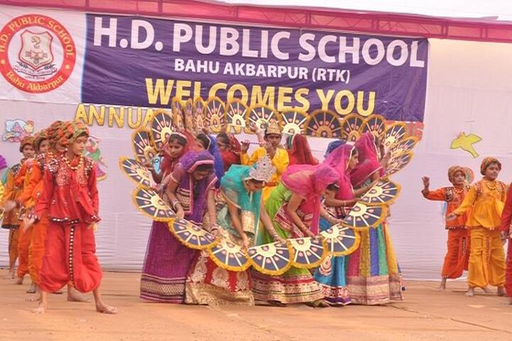 H D Public School-Annual day