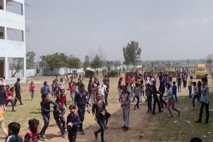 H D Public School-Holi Celebrations
