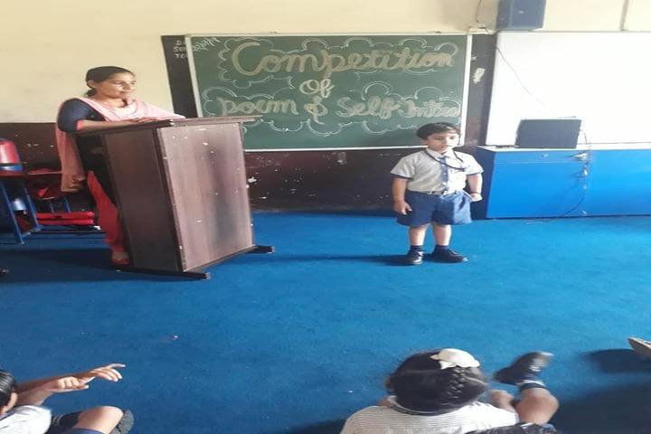 H C Memorial Public School-Poem Competition