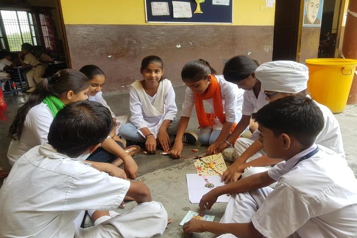 H C Memorial Public School-Rakhi Making