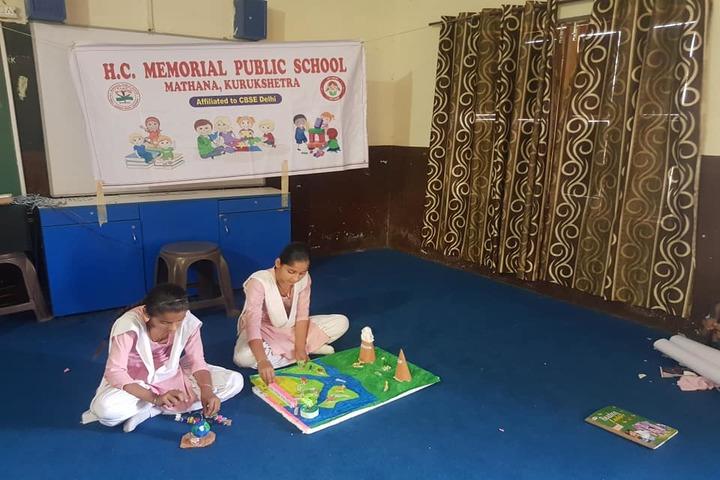 H C Memorial Public School-Science Exhibition