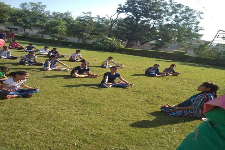 H C Memorial Public School-Yoga