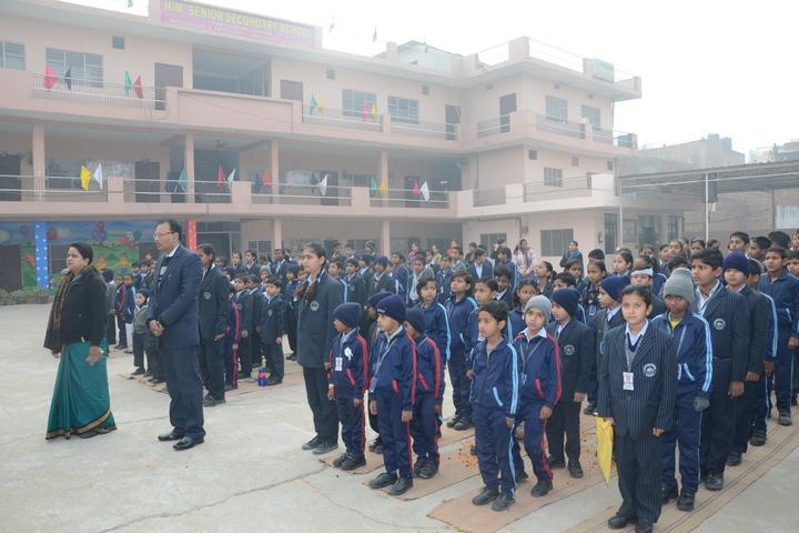 H M Senior Secondary School-Flag Hosting