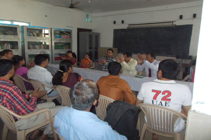 H M Senior Secondary School-Staff Room