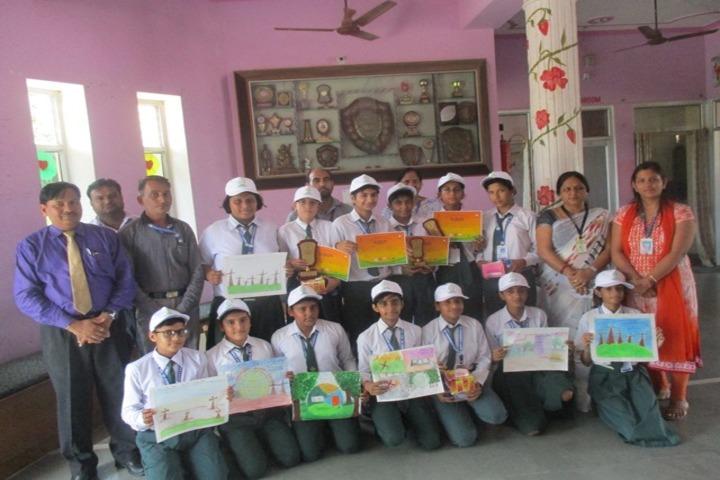 Happy Evergreen Senior Secondary School-Painting