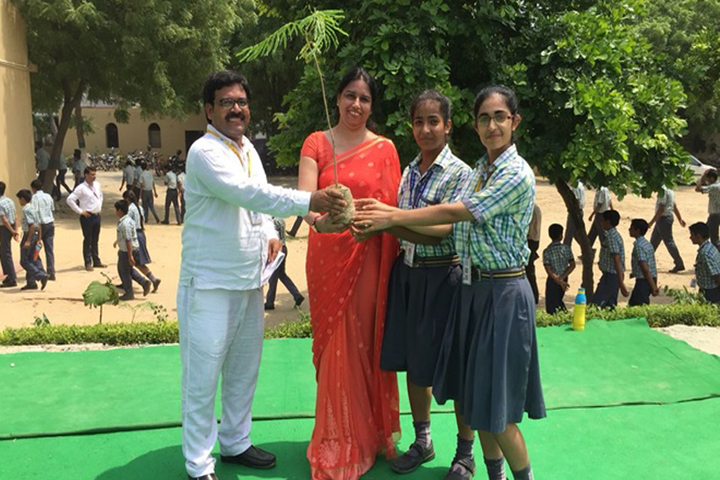 Hardayal Public School-Tree Plantation