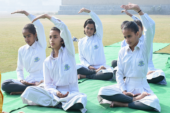Hardayal Public School-Yoga
