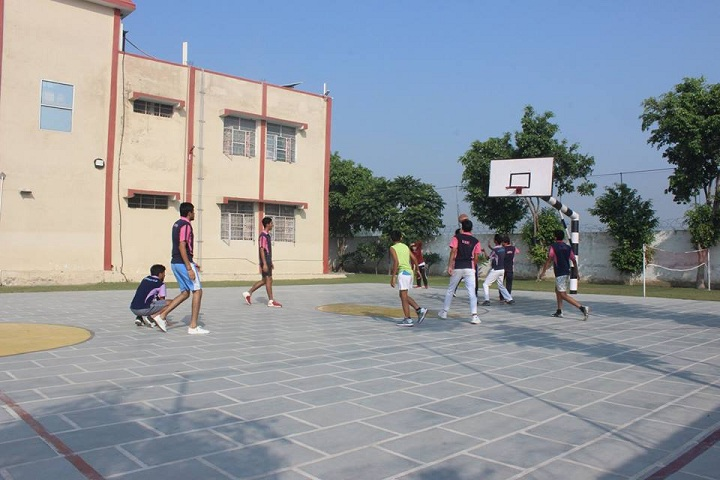 Hare Krishna International Senior Secondary School-Basket Ball Court