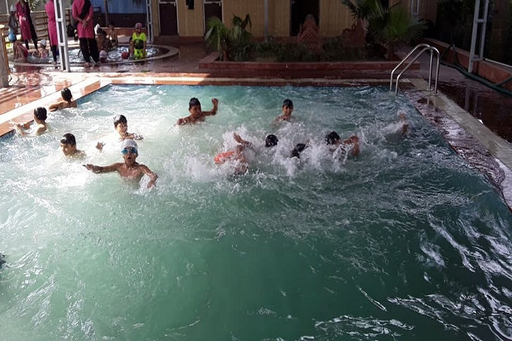 Hare Krishna International Senior Secondary School-Swimming Pool