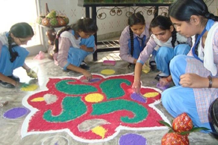 Hari Om Shiv Om Public School-Rangoli