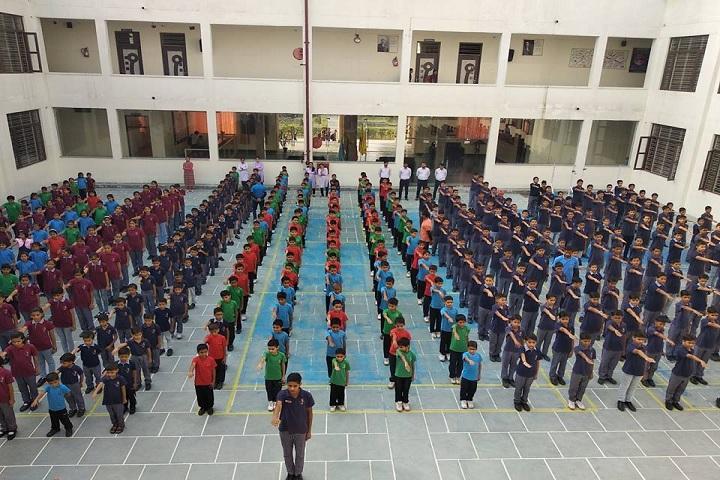 Harsh International School-Morning Assembly