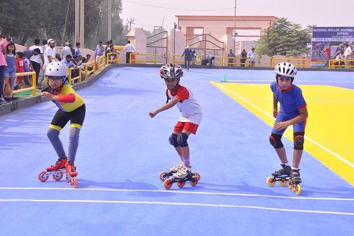 Harsh International School-Skating Competition