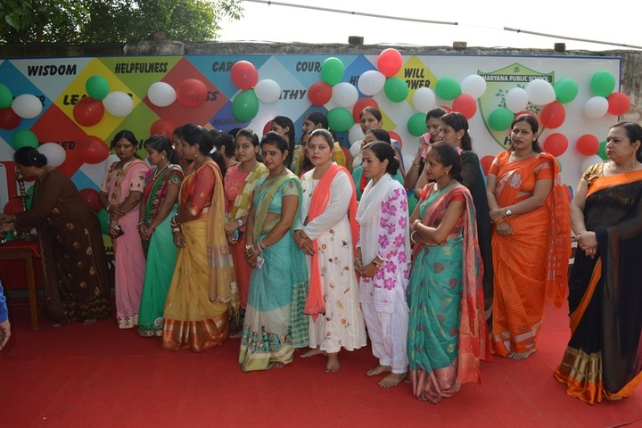 Haryana Public School-Teachers Day