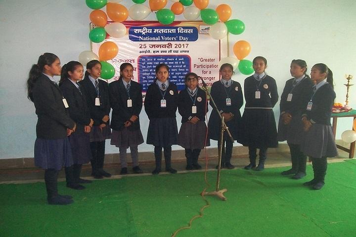 Haryana Senior Secondary School-Group Singing