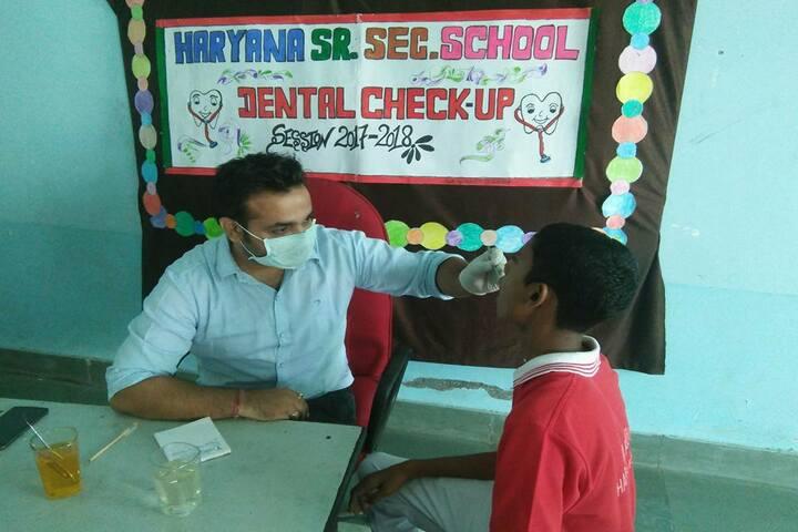 Haryana Senior Secondary School-Medical Checkup