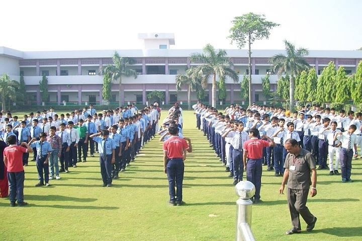 Haryana Senior Secondary School-Morning Assembly